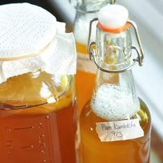 How to Make Kombucha Tea at Home  I'm so intimidated by this but I need to just try it once & for all!