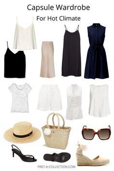 French Capsule Wardrobe, Travel Wardrobe, Work Wardrobe, Summer Wardrobe, Professional Wardrobe, Wardrobe Basics, Capsule Outfits, Fashion Capsule, Fashion Basics