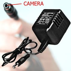 DVR 252 All In One Hidden Camera Ac Adapter - Motion Activated -With Built in DVR