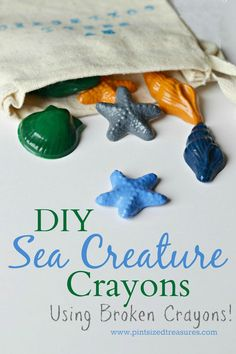 Got an broken crayons? Don't throw them away -- make these cute, upcycled crayons that are PERFECT for little hands! @alicanwrite