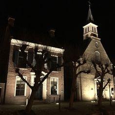 Herfstavond in Sloten Friesland