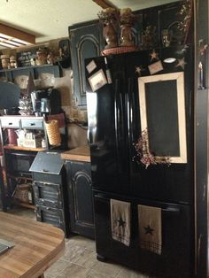 My primitive kitchen <3