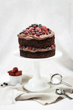 ... death by chocOlate cake ...
