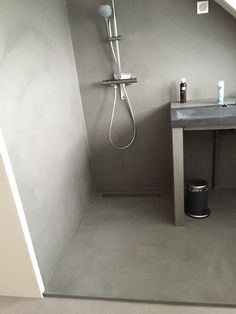 microcement shower Kung, Home Renovation, Bathrooms, Bathtub, Barn, House Design, Contemporary, Future, Inspiration