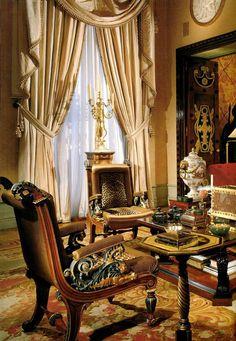 Alberto Pinto - Book on Paris based Interior Designer Luxury Homes Interior, Luxury Home Decor, Interior Architecture, World Of Interiors, Interior Design Work, Interior Decorating, Interior Ideas, Interior Photo, Home Decor Items