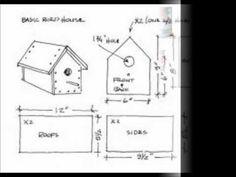 Simple Bird House Plans