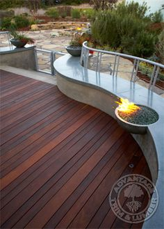 Ipe Decking Gallery - Ipe Deck Photos - Ipe Pictures  I like this pattern of boards...