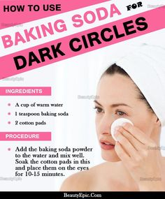 How to Remove Dark Circles With Baking Soda? Baking Soda for Dark Circles :Baking soda is one of the most admired effective and natural treatments that remove dark circles as well as baggy eyes Beauty Skin, Health And Beauty, Diy Beauty, Beauty Guide, Face Beauty, Healthy Beauty, Homemade Beauty, Skin Care Routine For 20s, Face Routine