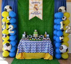 Partylicious: {Real Madrid Soccer Party}