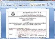 [Dokumen] Contoh Surat Keputusan Kepala Madrasah Tentang Pembagian Tugas Guru Dalam Proses Belajar Mengajar dan Tugas Tambahan Tahun 2016 Format Microsoft Word [.doc]