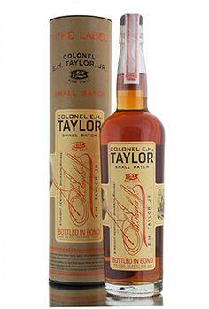 Colonel E.H.Taylor small batch release, bottled and named after Colonel Edmund Haynes Taylor, Jr, the 'founding father' of the modern bourbon industry. The same innovative techniques that he developed are still in use today and were used in the production of this small batch bourbon whiskey, including it's time in barrel which was aged inside the warehouses constructed by him over a century ago. http://www.abbeywhisky.com/colonel-e-h-taylor-small-batch-american-bourbon-whiskey