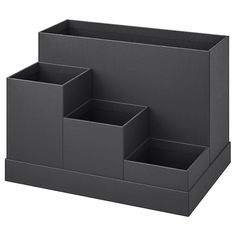 Explore our range of desk storage solutions, including desk tidy and desk organiser. Visit IKEA and find ideas and inspiration for your home office. Desk Organization Ikea, Ikea Desk, Diy Desk, Ikea Ikea, Organizing Ideas, Cardboard Organizer, Cardboard Box Crafts, Diy Box Organizer, Organiser Box