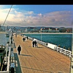 Sopot, Poland pier