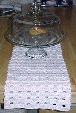 TABLE RUNNER  Crochet Pattern