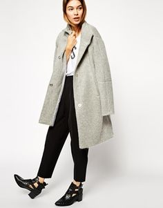 Timeless asos oversized coat for winter travels, click to shop! / the love assembly