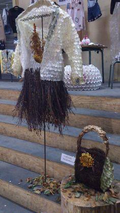 Jasje, rok en tas gemaakt door Gonnie en Diny