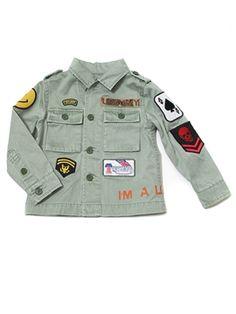 Native Funk & Flash - Native Funk & Flash Military Serpico Jacket