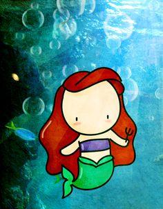 under the sea by ~agusmp on deviantART (Ariel)
