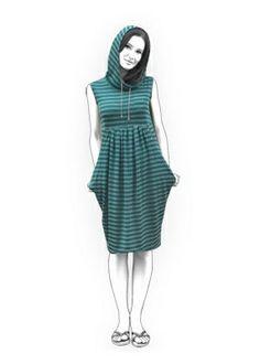 4092 Personalized Tunic Pattern - PDF sewing pattern, Women Clothing