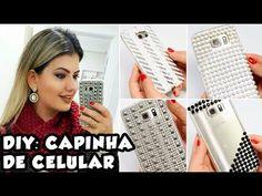 ca4cf6768c1 Hoje eu vim ensinar pra vocês como fazer capinhas de celular de um jeito  muito fácil e barato. Você vai gastar pouquíssimo caso não tenha os  materiais em ...