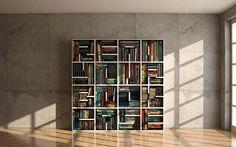 Mosaic Book Shelf