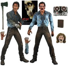Action Figures do Filme Evil Dead 2