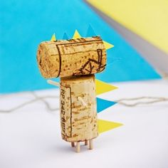 Recycle old wine corks into pocket-sized pals for the kiddos in the fun forms of a dragon and horse with rider!
