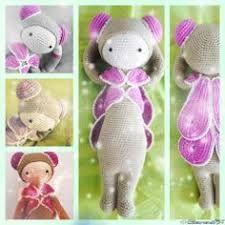 KIRA the kangaroo lalylala crochet pattern / amigurumi | Etsy | 225x225