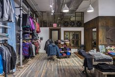 In typical Patagonia fashion, this shop is about maintaining and showcasing the building's rich history, most notably its run as CBGB Annex - a record shop, gallery, and event space.