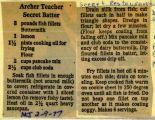 Arthur Treacher Secret Batter Retro Recipes, Cajun Recipes, Old Recipes, Vintage Recipes, Copycat Recipes, Fish Recipes, Seafood Recipes, Chicken Recipes, Cooking Recipes