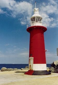 Fremantle North Mole lighthouse [1906 - Fremantle, Western Australia, Australia]