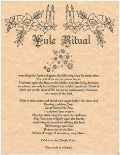 Ancient spells On Witchcraft Curses Pagan Yule, Pagan Witchcraft, Samhain, Magick, Yule Traditions, Winter Solstice Traditions, Yule Celebration, Solstice And Equinox, Yule Crafts