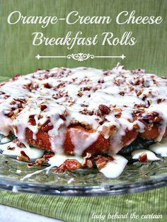 orange cream cheese breakfast rolls