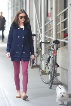 Olivia Palermo - great sweater.
