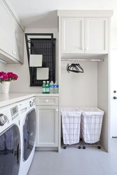 31 Perfect Laundry Room Storage Ideas for Small Rooms With the correct design, you are able to even apply your laundry room for some other tasks like at-home office work or crafts. The laundry room is just one of others… Continue Reading → Laundry Room Diy, Closet Storage, Diy Laundry, Room Storage Diy, Drying Room, Room Shelves, Laundry Storage