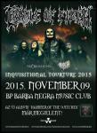 Cradle Of Filth - Következő hétfőn a Barba Negra Music Clubban! (2015.11.09.)