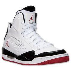 Men\u0026#39;s Jordan Flight 9.5 Basketball Shoes?| Finish Line | White/Black/Gym Red | Kicks | Pinterest | Jordans, Finish Line and Basketball Shoes