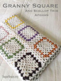 ≪海外の編み物≫かぎ針編みの四角モチーフで作れるステキなもの! - NAVER まとめ