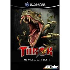 Turok: Evolution Game for the Sony Playstation 2 Buy Now from Fully Retro! Games On Sale, Gamecube Games, Video Game Collection, High Fantasy, Animation Film, Fiction Books, Cover Art, Card Games, Science Fiction