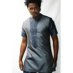 SHY MEN AFRICAN FASHION CLOTHING SHORT SLEEVE | KIPFASHION