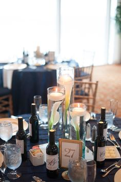 Wedding Central: Photos From the Big Day, centerpieces