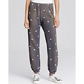 WILDFOX Star Print Sweatpants