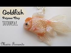 Polymer Clay Red Cap Oranda Goldfish Tutorial | Maive Ferrando - YouTube
