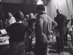 "Not Sean on Twitter: ""SO hungover but last night was a stunner. So many photos. Louise, Benedict & Mark watching Maxine backstage. https://t.co/eQLK4mdfFG"""