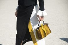 75f84a9232b0 Kate Foley s Fendi bag was the perfect accoutrement to the rest of her  outfit. Street