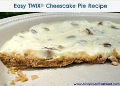 Easy Twix Cheesecake Pie Recipe
