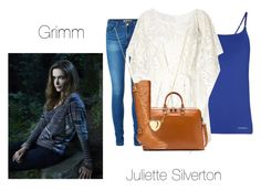 """""""Juliette Silverton- Grimm"""" by twilight-vs-hunger-games-fan ❤ liked on Polyvore featuring Vero Moda, Emporio Armani, Lipsy, Lodis, Style & Co., women's clothing, women's fashion, women, female and woman"""