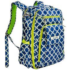 Рюкзак Ju-Ju-Be Be Right Back. Размеры: 30,5 х 40,6 х 12,7 см. (ширина х высота х глубина). Вес: 0,9 кг.