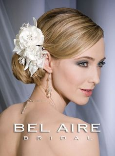 Bel Aire Bridal Headpiece 6159 - HeadpieceStore.com