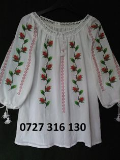 WhatsApp Image at Garba Dress, Mexican Shirts, Embroidered Clothes, Kurta Designs, Latest Dress, Blouse Styles, Fashion Outfits, Womens Fashion, Crochet Stitches